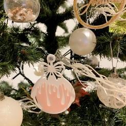 Descargar modelo 3D Bola de nieve de Navidad., kikenana
