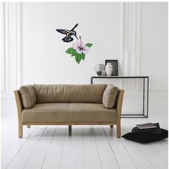 Impresiones 3D decoración de pared( colibrí y flor de hibisco), kikenana