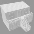 Maison antique 2.jpg Download STL file Ancient city - Wargame • 3D printer object, Eskice
