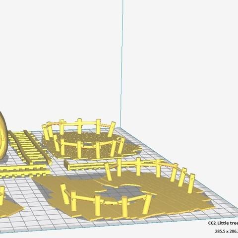 Village ewok cura.jpg Download STL file Star Wars Legion: Ewok Decorations for Endor! • 3D printer object, Eskice