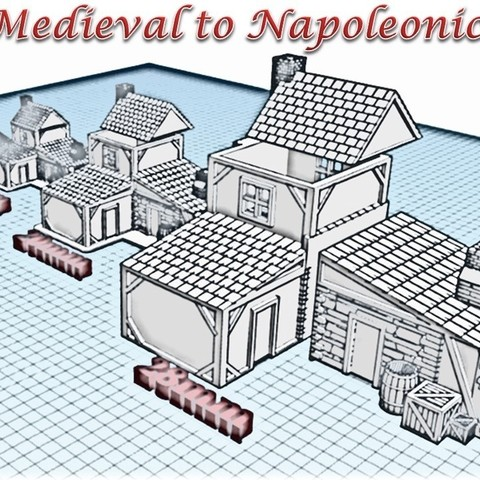 3D printer files Forge - Medieval Wargame at Napoleon, Eskice