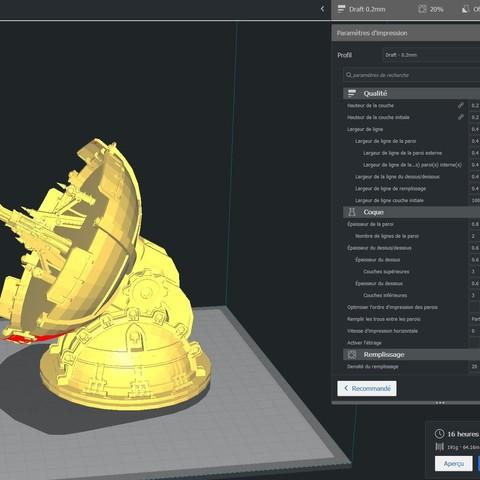 3D print model Radar Sci Fi - Scenery 40k, Eskice