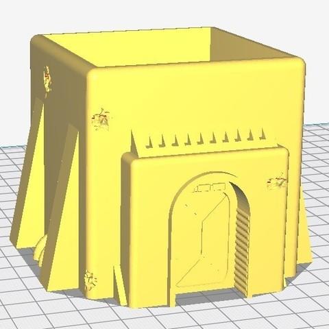 Petite maison.jpg Download STL file Star Wars Legion: Battlefield Scenery! • 3D printing object, Eskice