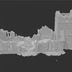720X720-eglise.jpg Download STL file Church ruin - XVIII to XX period • 3D printing design, Eskice