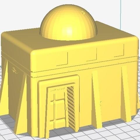 Moyenne maison.jpg Download STL file Star Wars Legion: Battlefield Scenery! • 3D printing object, Eskice