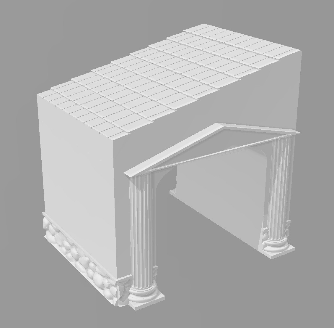 Extension maison antique.jpg Download STL file Ancient city - Wargame • 3D printer object, Eskice