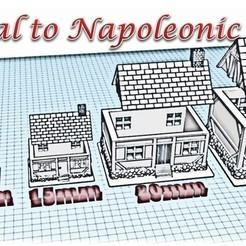 House 5 - Medieval to Napoleonic.jpg Télécharger fichier STL Maison 5 - Wargame médiéval à Napoléon • Plan pour impression 3D, Eskice