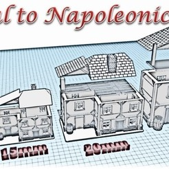 3D print files House 1 - Medieval Wargame at Napoleon, Eskice