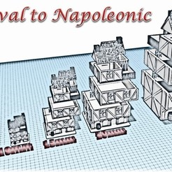 3D printer models Building 2 - Medieval Wargame to Napoleon, Eskice