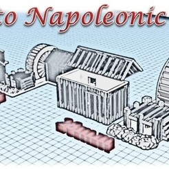 3D printing model Water Mill and Shed - Medieval Wargame in Napoleon, Eskice
