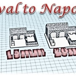 Download 3D printer model Henhouse and Piggy Box - Medieval Wargame to Napoleon, Eskice