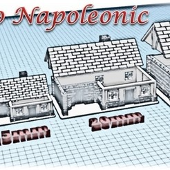 3D printer models House 2 - Medieval Wargame at Napoleon, Eskice