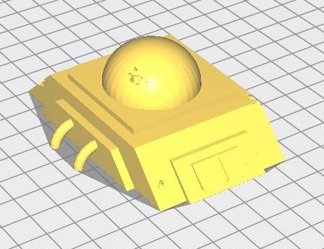 Remise souterraine.jpg Download STL file Star Wars Legion: Battlefield Scenery! • 3D printing object, Eskice
