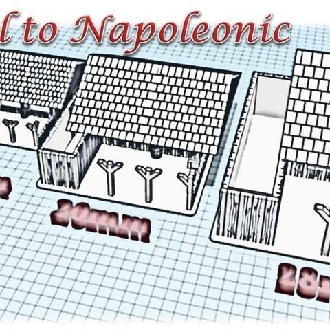 3D printer files The Stable - Medieval Wargame at Napoléon, Eskice