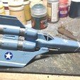 Free STL file Battlestar Galactica Viper, Eskice
