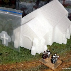 Download 3D printing models Church - Medieval Wargame in Napoleon, Eskice