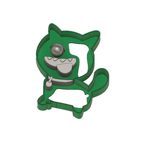 Descargar archivo 3D Ugly Dolls Cookie Cutter Ugly Dog, jdallasta