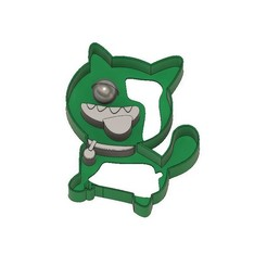 Download 3D printer designs Ugly Dolls Cookie Cutter Ugly Dog, jdallasta