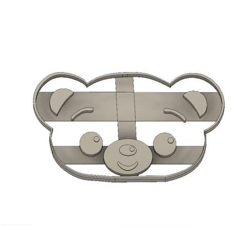 Download 3D printer designs Bam Character Plim Plim Cookie Cortante, jdallasta