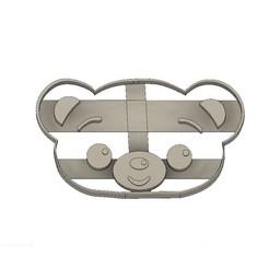 3D printing model Bam Character Plim Plim Cookie Cortante, jdallasta