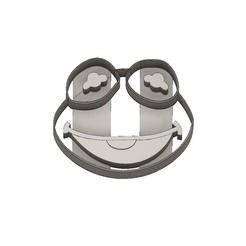 Download 3D print files Muppet Babies Cookie Cutter Kermit, jdallasta