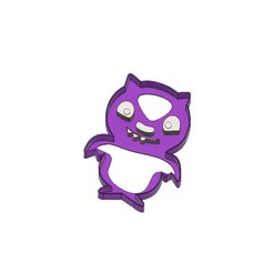 Télécharger STL Ugly Dolls Cookie Cutter LuckyBat LuckyBat, jdallasta