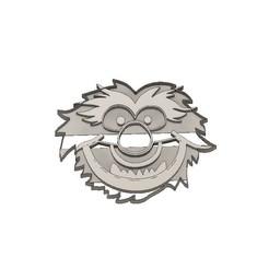 3D printer files Muppet Babies Cookie Cutter Animal, jdallasta
