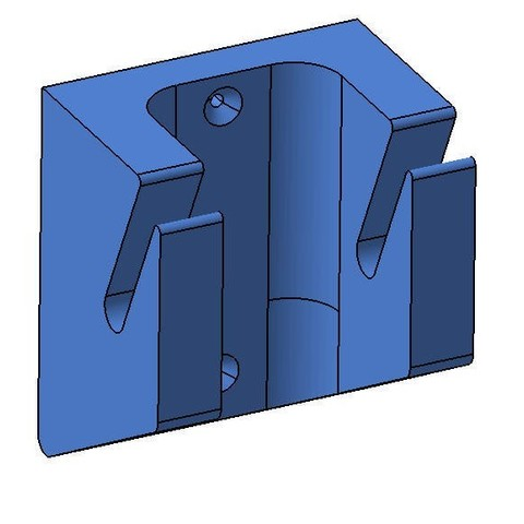 Free Snowboard Wall support 3D printer file, Giulio