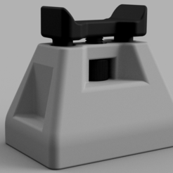 Free Adjustable shooting stand. 3D printer file, EvolvingExtrusions
