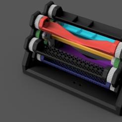 Télécharger modèle 3D gratuit Carrousel de stylo mécanique, EvolvingExtrusions