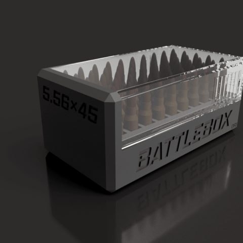 Free BATTLEBOX 5.56 NATO STL file, EvolvingExtrusions