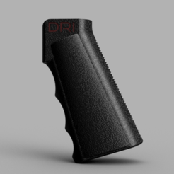 Download free STL AR  grip, EvolvingExtrusions