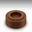 Download free 3D printer designs Wooden Ring Box, Giovani_Martani