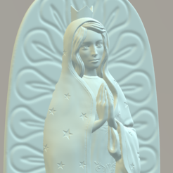 3D print model Our Lady of Guadalupe, Giovani_Martani