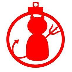 Diseño bola demonio.JPG Download STL file Christmas ball christmas demon design • 3D print model, regata3dprint
