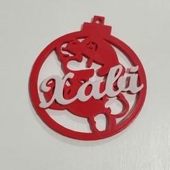 Bola Super Mario.jpg Download STL file Christmas ball christmas Mario design • 3D printable template, regata3dprint