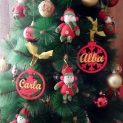 Bola copo e arbol 2.jpg Télécharger fichier STL Boule de Noël : conception d'un arbre de Noël • Objet pour imprimante 3D, regata3dprint