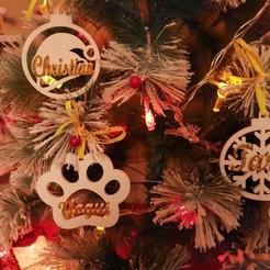 Bola gorro papa noel copo perro.jpg Download STL file Christmas ball christmas santa hat design • 3D printable template, regata3dprint