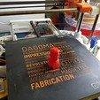 Free 3d printer designs Jean-Luc Mélenchon, 3DAddict
