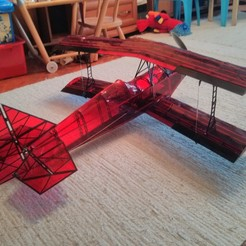 Free 3D printer files Ultimate Biplane 10-300S, osoba