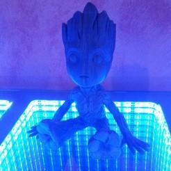 Free stl Baby Groot, T09