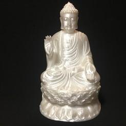 Download free 3D printer designs Gautama Buddha 03, choschiba
