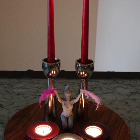 Objet 3D La sorcière, choschiba