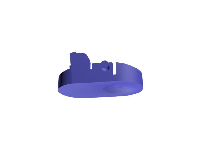 ClipDyson.png Download free STL file Dyson vacuum cleaner hose clip • 3D print object, GabuZome
