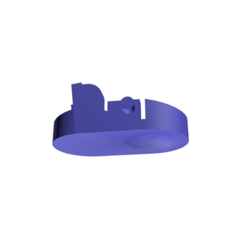 Free 3D printer designs Dyson vacuum cleaner hose clip, GabuZome