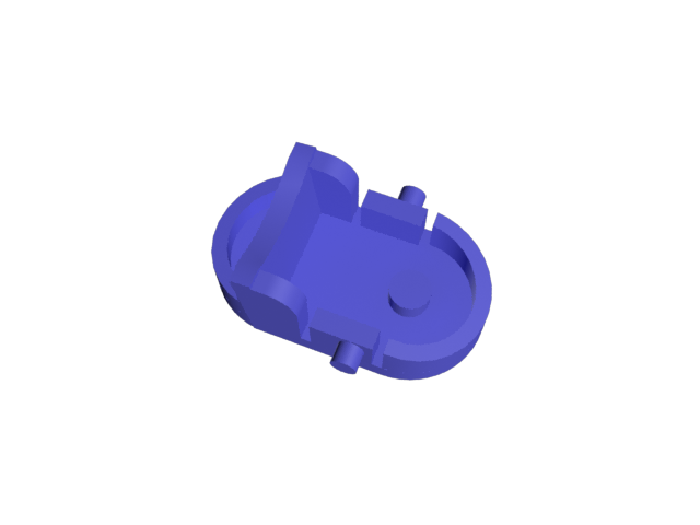 ClipDyson2.png Download free STL file Dyson vacuum cleaner hose clip • 3D print object, GabuZome