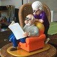Download free STL file Pickles - comic strip scene • Object to 3D print, GabuZome