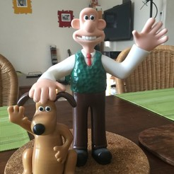Free 3D print files Wallace and Gromit, GabuZome