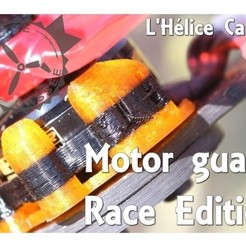 Télécharger fichier STL Race Edition - Drone Motor Guard, LHeliceCassee