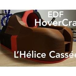 Download free 3D printer designs EDF RC Hovercraft V1, LHeliceCassee